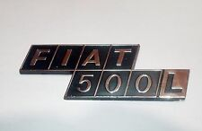 FIAT 500 L/ SCRITTA POSTERIORE/ REAR NAMEPLATE BADGE