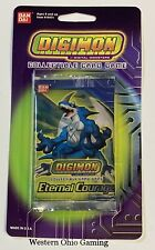 Digimon Eternal Courage Blister Booster Pack from Box NEW Trading Card Game TCG