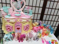 Lot Vtg My Little Pony G1 Pony Perm Shoppe Fifi Studio Beauty Salon Accessories