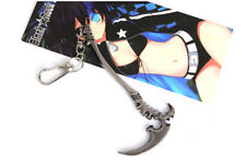 New Anime Black Rock Shooter Dead Master Cosplay Keychain Pendant Collection