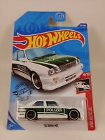 '92 BMW M3 - White/Green Polizei | HW Rescue 4/10 | Hot Wheels 207/250
