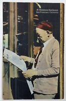 San Francisco Chinatown Vintage Postcard A Chinese Gentleman