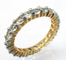 Anelli di lusso con gemme naturali blu Misura anello 17