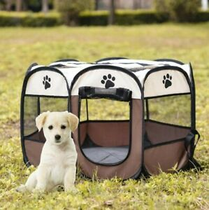 Pet Bed Portable Pet Tent Folding Dog Cat Puppy Indoor House Easy Operation