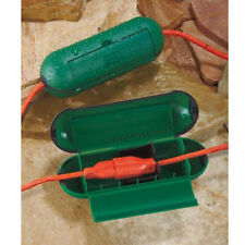 Electrical Cord Covers Garden Green Holiday Extension Cord Connectors Outdoor