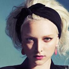 Fashion Korean Rabbit Ear Headscarf Elastic Headbands Women Hair Accessories XC