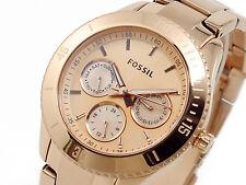 Neu Fossil Damen Uhr Metal Rose Gold ES2859 Women Watch Metal Neu mit Garantie