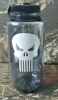 NEW 32oz Marvel Punisher Nalgene Wide Mouth Water Bottle Sports Military Kids