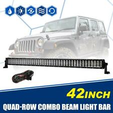 42inch 1920W Tri-Row Combo Driving Lamp LED Work Light Bar Truck ATV 4WD Offroad