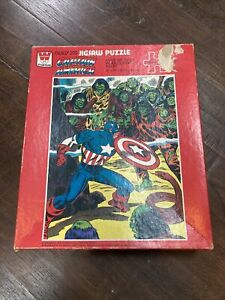 1976 Captain America  Jigsaw Puzzle Complete