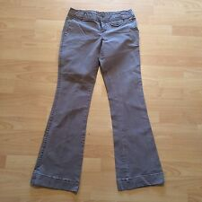 Women's Mossimo Stretch Beige Tan Khaki Cotton blend Pants Slacks Size 5