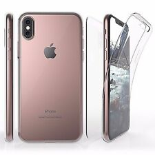 Clear Full Body Wrap Screen Protector Front Back Clear Case For iPhone X (2017)