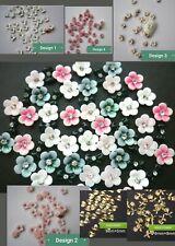 "UK SELLER"" DIY 3D Nail Art Decoration Bows Flowers Roses Rhinestone  20 styles"
