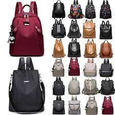 Women Waterproof Rucksack Anti-Theft Backpack Ladies Travel Shoulder Bag Fashion
