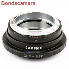 Camdiox Contax Rangefinder RF CRF Lens to Sony NEX E Adapter 5T 7 A6000 A7 A7R