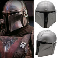 Mandalorian Helmet Star War Boba Fett Adults Full Starwar Cosplay Latex Helmet