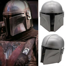 Mandalorian Helmet Star Wars Boba Fett Adults Full Starwar Cosplay Tools Costume