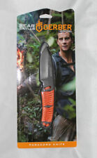GERBER BEAR GRYLLS PARACORD FIXED BLADE SURVIVAL KNIFE w SHEATH 31-001683 NEW