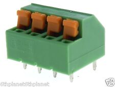 5x 4 vías PCB Conector 5 Mm Pitch 12a 320v Phoenix Contact 1790649 mfkdsp / 4-5,08