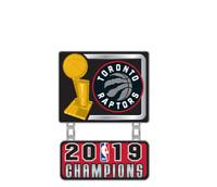 TORONTO RAPTORS - 2019 NBA CHAMPIONS - LAPEL/HAT PIN - BRAND NEW NBA-2553-PN-15