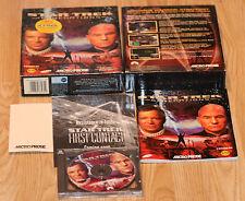 Vintage Juego De Pc Star Trek generaciones Micro prosa 1997 Juego De Caja Grande