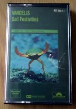 Vangelis Soil Festivities Cassette Polydor Label - West Germany