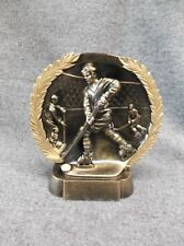 self standing male Hockey resin trophy award large Rfh513