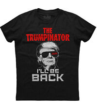 The Trumpinator T-shirt Donald Trump President Funny Election 2024 New Men's Tee