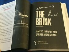 """Autographed/Signed By Authors """"The Brink"""" An Awakened Novel James S Murray Hc"""