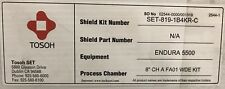 "New! Tosoh SET-819-1B4KR-C Motorola Mos12 P5000 Endura 5500/ 8""CHAFA01 WDE Kit"