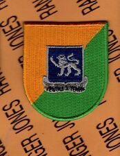 US Army 4th Bn 68th Armor Tank 82nd Airborne beret flash patch w/ dui