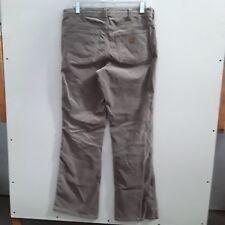d407f51d49 Carhartt original fit women's 6 regular beige bootcut cordoroy pants