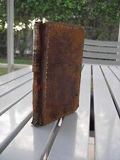 OEUVRES DE BOILEAU DESPREAUX A L'USAGE 1838 LEATHER