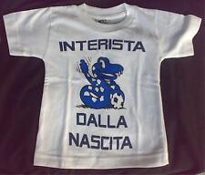 MAGLIA Inter bimbo 0/2 anni INTERISTA DALLA NASCITA idearegalo maglietta bambino