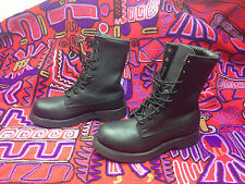 2004 USA ADDISON STEELTOE ENGINEER MOTORCYCLE ROAD BOSS MILITARY DRILL BOOTS 4M