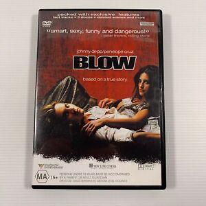 Blow (DVD, 2002) Ray Liotta, Johnny Depp Region 4