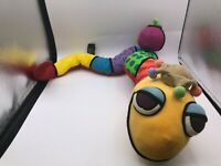 Britto Popplush Enesco Salvador The Snake Plush Soft Stuffed Toy Animal Doll