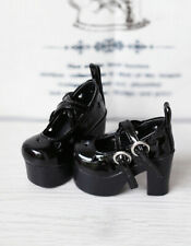 1/4 bjd MSD MDD Luts kid doll black color lolita shoes dollfie dream #2