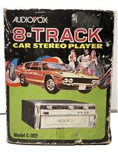 Audiovox 8 Track Player Model C-905 New Old Stock! A1