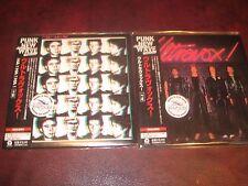 ULTRAVOX 2 RARE  & VALUABLE LIMITED JAPAN OBI REPLICA OBI CD'S ONE TIME SPECIAL