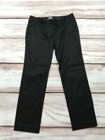 Womens Adidas Adipure Golf Trousers Black Coated Shiny Size UK 12
