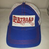 Dirtroad Dreamer Junk Gypsy Hat Hook and Loop Part Mesh Red White Blue