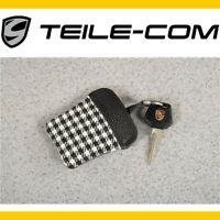 NEU+ORIG. Porsche Classic 911 F/G PEPITA ETUI mit Porschewappen für Schlüssel