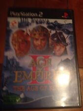 Age of Empires II (2) The Age of Kings PlayStation 2 PS2 - Pal Region