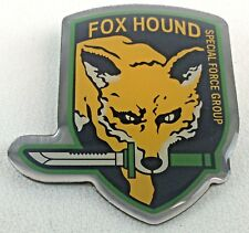 FOX HOUND - Video Game METAL GEAR SOLID - Special Forces Group - Enamel Pin