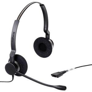 Jabra BIZ 2300 QD Duo Noise Cancelling 2309-820-104 Business Office Headphone