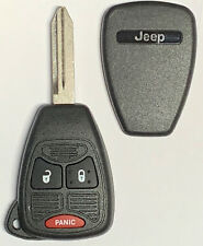 Jeep 4 Button BIG Remote Head Key SHELL TOP Quality USA Seller