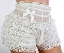"""Sissy pouch panties men lace bikini briefs knickers underwear size44""""-48"""" gay A5"""