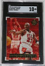 1995 Ultra Double Trouble Gold Medallion #3 Michael Jordan SGC 10 GEM MINT POP 1