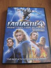 FANTASTIC FOUR RISE OF THE SILVER SURFER DVD  FRENCH & ENGLISH